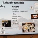 Learning about Cittaslow in Djúpivogur.