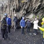 Learning about landslides.