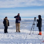 Experts from Katla Geopark.